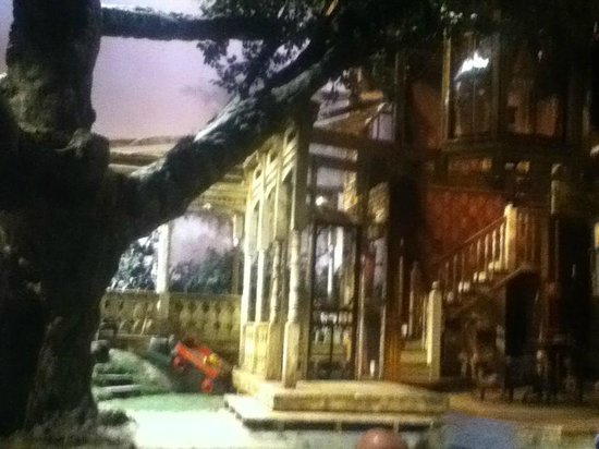 "Two River Theater: The set of ""On Borrowed Time"""
