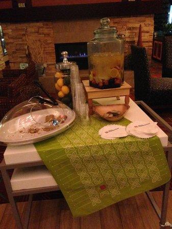 Hilton Garden Inn Ann Arbor: refreshing infused water
