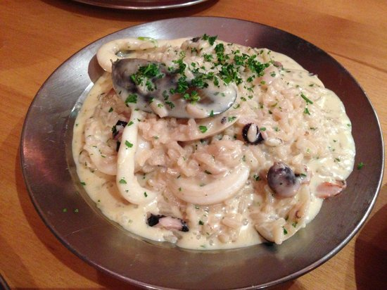 Papadino's Katoomba Pizzeria and Family Restaurant: Risotto - simply delicious