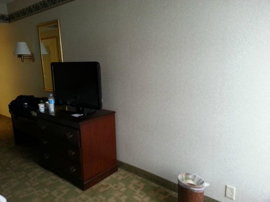 Hampton Inn Buffalo South/I-90 : Pretty Bare Room...hope they didn't spend a bunch on interior design.