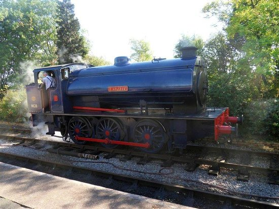 Foxfield Railway : Steam Train