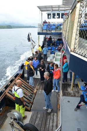 Bering Sea Crab Fishermen's Tour: View from the upper deck