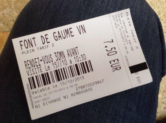 Cave of Font-de-Gaume: Un précieux sésame