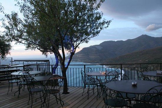 La Sassa : La terrasse