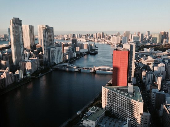 Ginza Creston Hotel : Sumida river view from 10 flr room