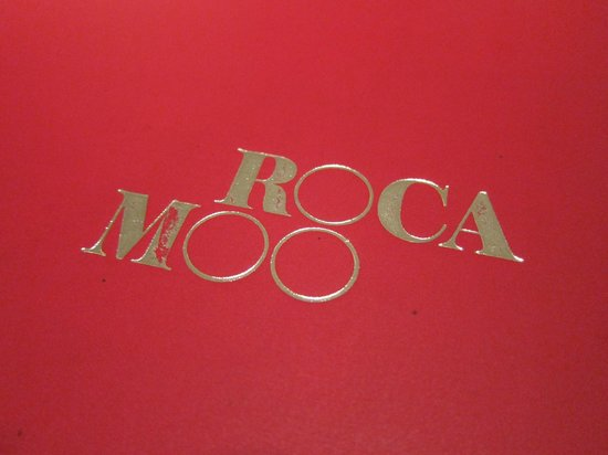 Roca Moo : Menu cover