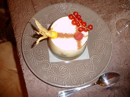 Hotel Beatus : another wonderful dessert