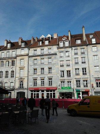 Hotel Vauban: Hotel from city square
