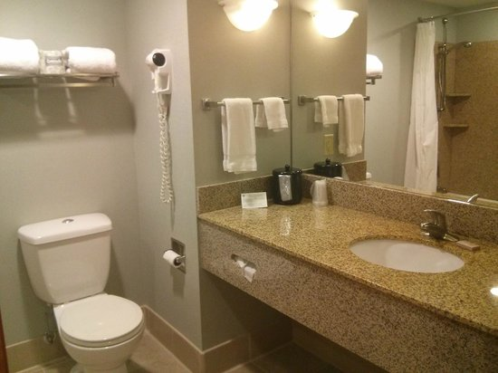 Unity Village Hotel and Conference Center : bathroom