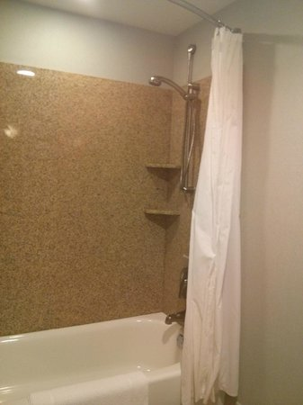 Unity Village Hotel and Conference Center : shower