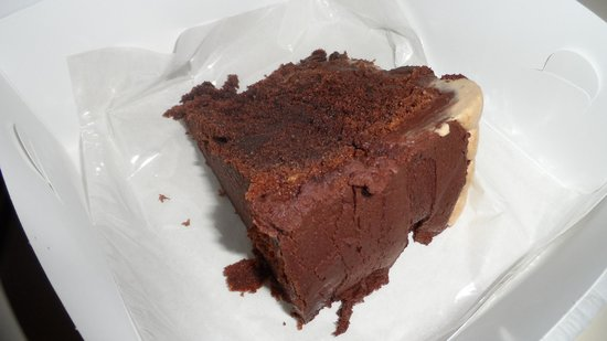 Mountain Cafe: Mocha cake