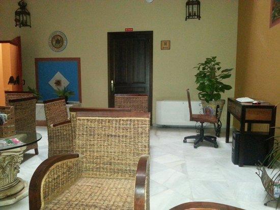Casona de San Andres Hotel: Zona divani