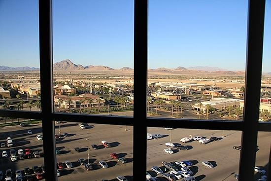Sunset Station Hotel and Casino: View from my room.