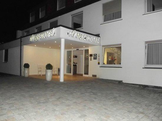 Hanse Hotel Soest: Entrée nocturne
