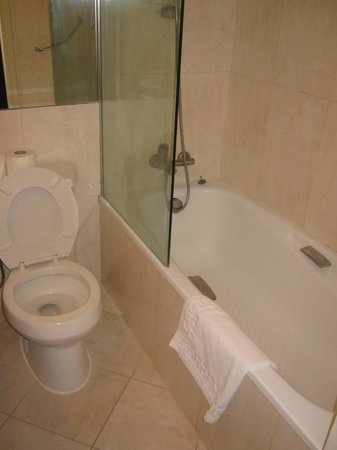 Jerusalem Gold Hotel: Double room - bathroom
