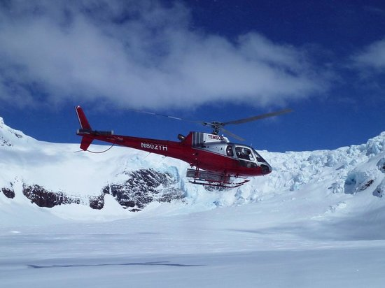 Alaska Powder Descents: APD Heli on it's way up