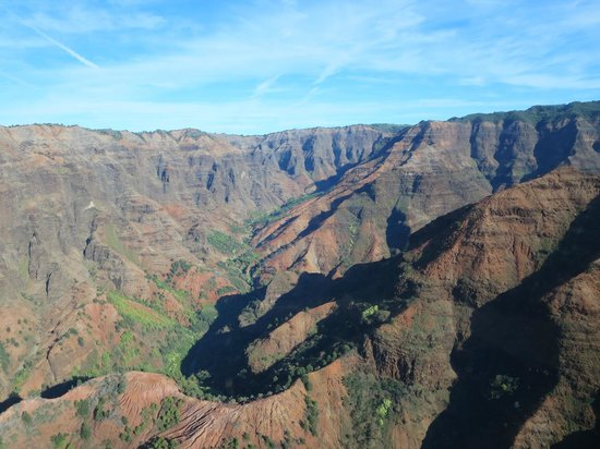Jurassic Falls  Picture Of Island Helicopters Kauai