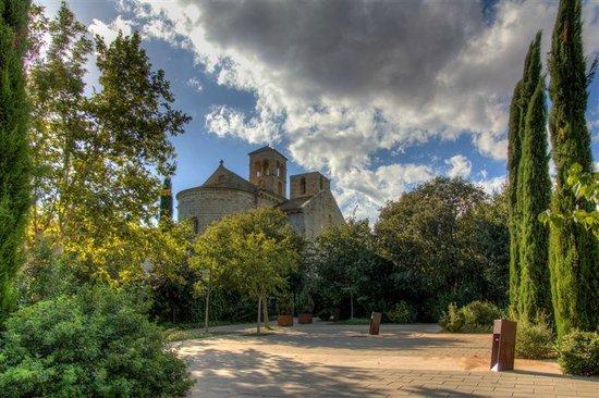 Mon St Benet: Vista Monasterio