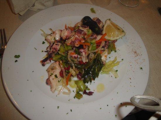 Dal Cozzaro : insalata di polipo
