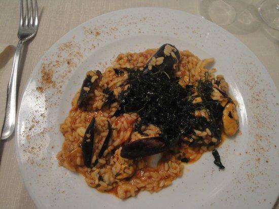 Dal Cozzaro : risotto alla marinara