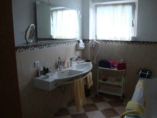 Hotel Post: salle de bain
