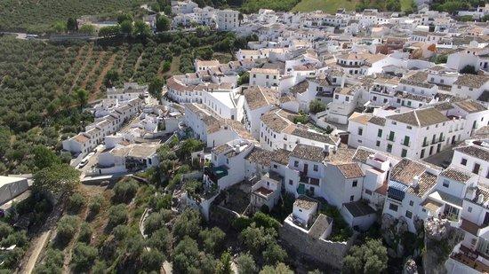 Vista aérea de Zuheros