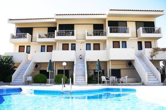 Hotel Orestis : piscina