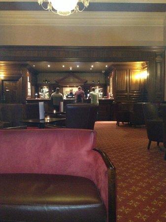 The Majestic Hotel: bar area