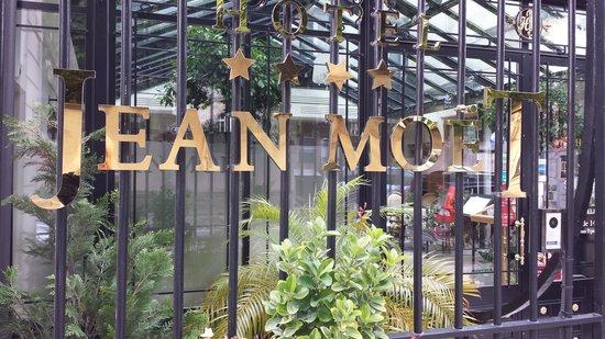 Hôtel Jean Moët : Läcker entré