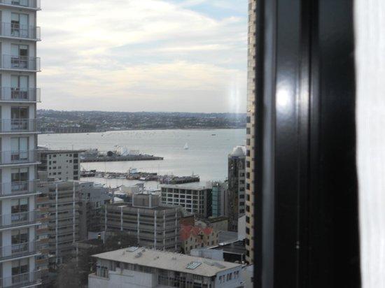CityLife Auckland: vue de la chambre sur la baie