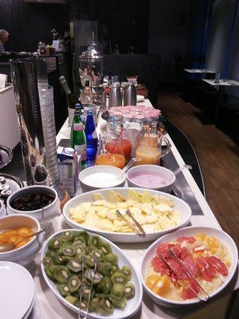 Hotel Aqua : Una bella colazione e si inizia