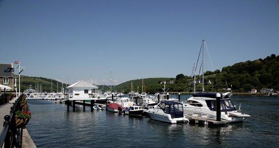 Dart Marina Hotel and Spa: Waterfront