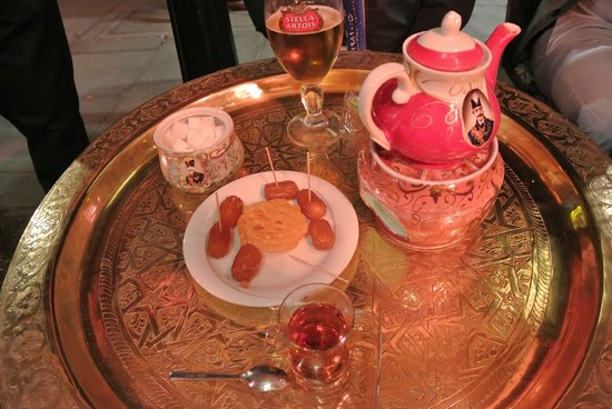 Little Persia: Tea, beer and sweets