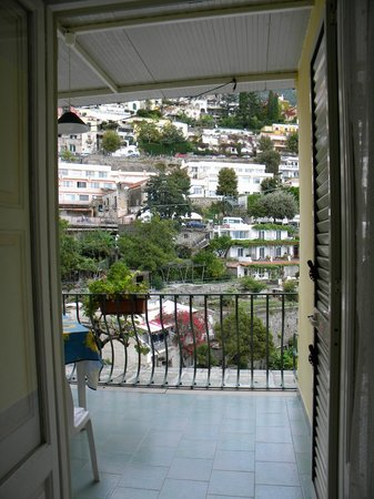 Venus Inn B&B Positano: Vista desde nuestra habitación