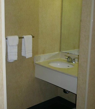 Days Inn Fredonia/Dunkirk: Sink only, tolet and tub are elsewhere