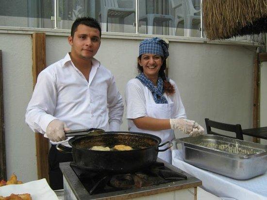 Manas Park Calis: Нам готовили вкусные пончики