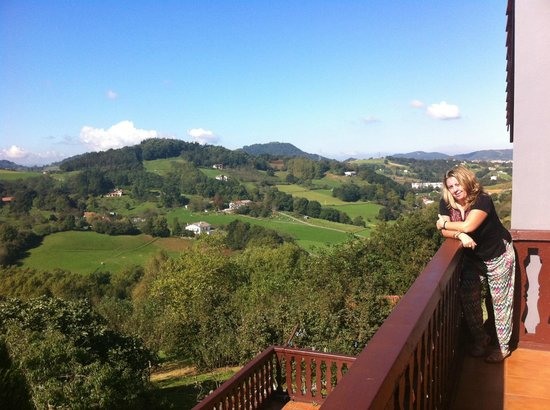 Olazi : La terraza superior
