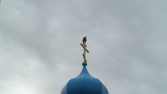 Holy Resurrection Russian Orthodox Church: Religious eagle