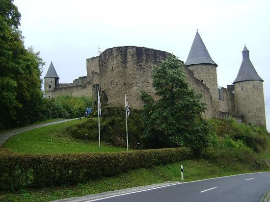 Bourscheid Castle, Bourscheid, Luxemburgo.