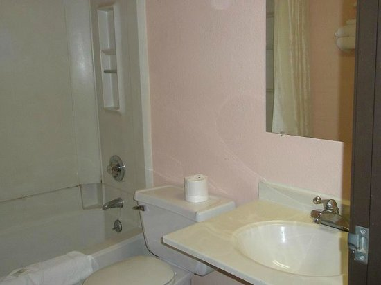 Rodeway Inn Benton Harbor: bathroom