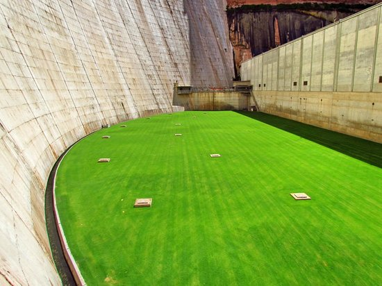 Glen Canyon Dam: Turbinedak