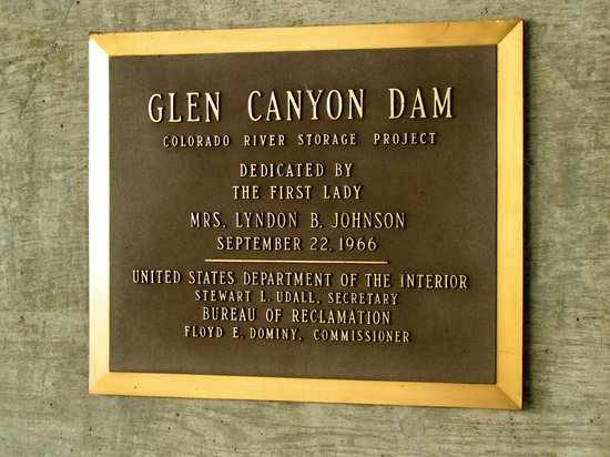 Glen Canyon Dam: Plaat