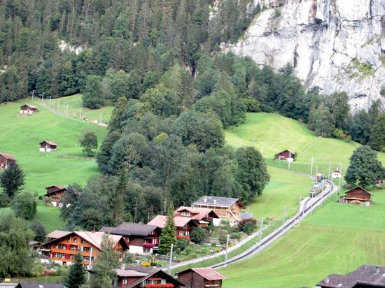 Hotel Staubbach: View from our window