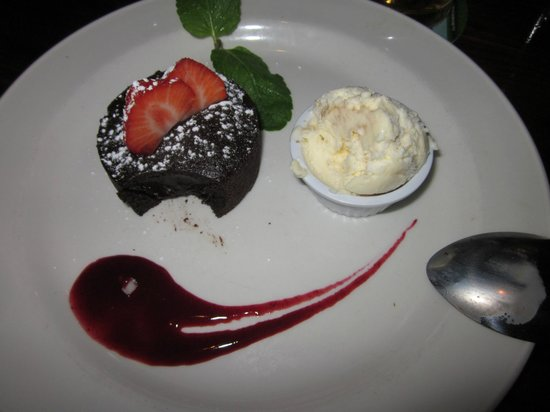 The amazing dessert: hot chocolate pudding - Foto di The Old ...