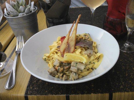 Les Corsaires : Espaguete de frutos do mar