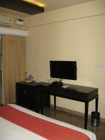 Hotel Crystal Paark Inn: TV