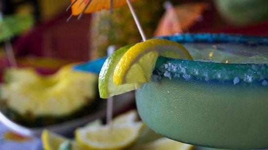 Mi Casa Azteca : our lime margaritas