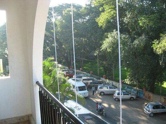 Hotel Crystal Paark Inn: Balcony