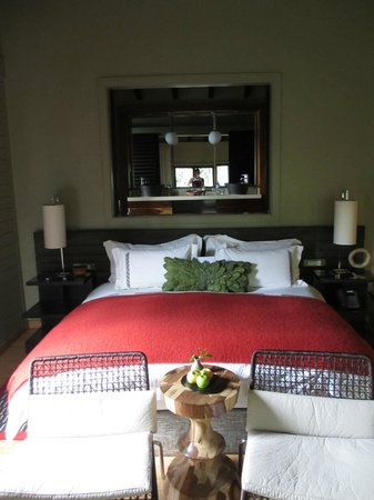 Nyungwe Forest Lodge: Bed