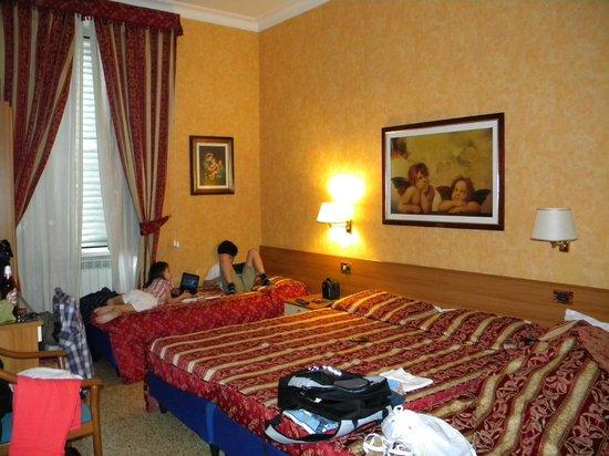 Hotel Milazzo: La habitación cuádruple